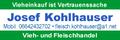 Vieh und Fleischhandel JOSEF KOHLHAUSER