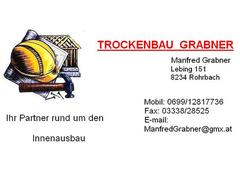 Trockenbau Manfred Grabner