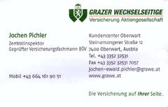 Jochen Pichler GRAWE
